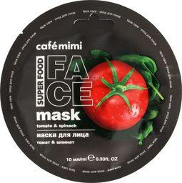 Cafe Mimi Cafe Mimi Super Food Maseczka do twarzy Pomidor & Szpinak 10ml