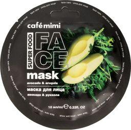 Cafe Mimi Cafe Mimi Super Food Maseczka do twarzy Awokado & Rukola 10ml