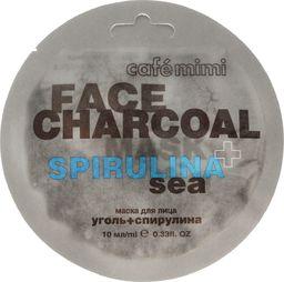 Cafe Mimi Cafe Mimi Face Charcoal Maseczka do twarzy Węgiel Bambusowy & Spirulina Sea 10ml