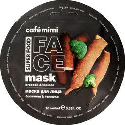 Cafe Mimi Cafe Mimi Super Food Maseczka do twarzy Brokuły & Tapioka 10ml
