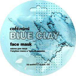 Cafe Mimi Cafe Mimi Blue Clay Maseczka do twarzy Niebieska Glinka & Drzewo Herbaciane 10ml
