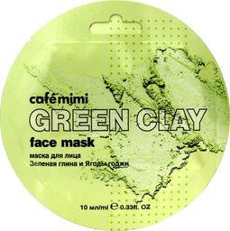 Cafe Mimi Cafe Mimi Green Clay Maseczka do twarzy Zielona Glinka & Jagody Goji 10ml