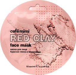 Cafe Mimi Cafe Mimi Red Clay Maseczka do twarzy Czerwona Glinka & Morwa 10ml