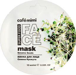 Cafe Mimi Cafe Mimi Super Food Maseczka do twarzy Nasiona Sezamu & Masło Shea 10ml
