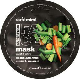 Cafe Mimi Cafe Mimi Super Food Maseczka do twarzy Marchew & Seler 10ml