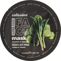 Cafe Mimi Cafe Mimi Super Food Maseczka do twarzy Ogórek & Szparagi 10ml
