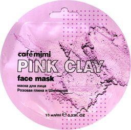 Cafe Mimi Cafe Mimi Pink Clay Maseczka do twarzy Różowa Glinka & Dzika Róża 10ml