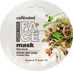 Cafe Mimi Cafe Mimi Super Food Maseczka do twarzy Nasiona Chia & Oliwa 10ml