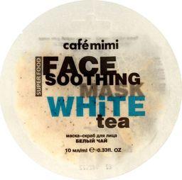 Cafe Mimi Cafe Mimi Face Soothing Maseczka - scrub do twarzy Biała Herbata & Lotos 10ml