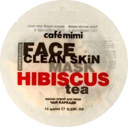 Cafe Mimi Face Clean Skin scrub herbata z hibiskusa & jaśmin 10ml