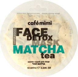 Cafe Mimi Cafe Mimi Face Detox Maseczka - scrub do twarzy Matcha & Aloes 10ml