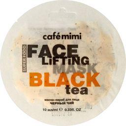 Cafe Mimi Cafe Mimi Face Lifting Maseczka - scrub do twarzy Czarna Herbata & Trawa Cytrynowa 10ml