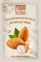 Marion Marion Food for Skin Maseczka kremowa do twarzy - odżywiający Migdał 6ml