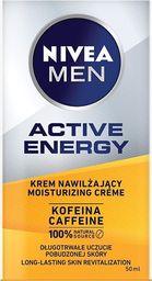 Nivea Men Active Energy krem nawilżający z kofeiną