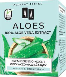 AA Aloes 100% Krem odżywczo nawilżający