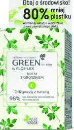 FLOSLEK Floslek Green for Skin Krem z groszkiem na noc - odżywczy ECO ZESTAW 50ml