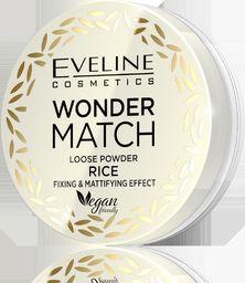 Eveline Wonder Match Puder sypki do twarzy Rice