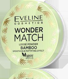 Eveline Wonder Match Puder sypki do twarzy Bambus