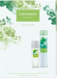 Chanson  Chanson D'Eau Zestaw prezentowy Original (deo naturalny spray 75ml+deo spray 200ml)