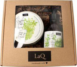 LaQ LaQ Zestaw prezentowy dla kobiet Kiwi i Winogrona (żel pod prysznic 300ml+peeling 200ml) 1op.