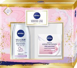 Nivea Nivea Zestaw prezentowy Sensitive Care (krem n/dzień 50ml+płyn micelarny 200ml)