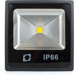Naświetlacz Abilite IP66, B.CIEPŁY, 70W/230V, 4200lm, płaska obudowa, Czarna (5901583546556)