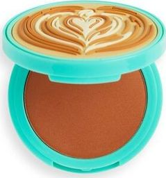 Makeup Revolution I Heart Revolution Tasty Coffee Bronzer do twarzy Cappuccino 1szt