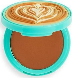 Makeup Revolution I Heart Revolution Tasty Coffee Bronzer do twarzy Macchiato 1szt