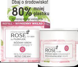 FLOSLEK Floslek Rose for Skin Różany Krem odmładzający na dzień - wymienny wkład 50ml