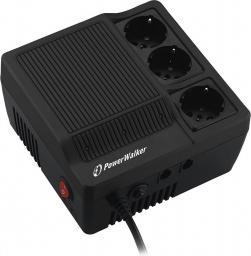 PowerWalker Stabilizator napięcia AVR 1000VA 3 x Schuko (220/230/240V) (AVR1000)