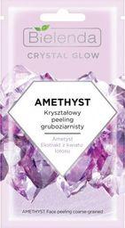 Bielenda Bielenda Crystal Glow Kryształowy Peeling gruboziarnisty Amethyst 8g