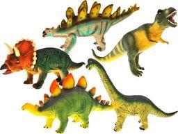 Jokomisiada Dinozaur duży gumowy malowany figurka dino (ZA1058)