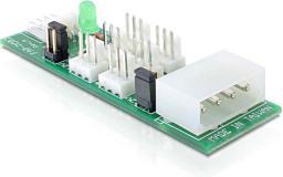 Delock Podłącznik do 6x wentylator 5V/12V (25218)