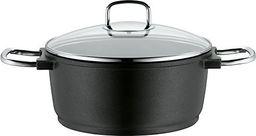 WMF Rondel indukcyjny WMF Bueno o wysokości 24 cm, szklana pokrywa, garnek do mięsa, odlew aluminiowy 4,2 l, indukcja garnka