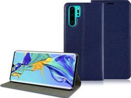 Alogy Etui portfel Alogy wallet do Huawei P30 Pro Granatowe + Szkło Alogy cały ekran uniwersalny