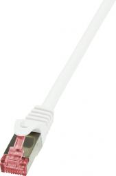 LogiLink CAT 6 Patchcord S/FTP PIMF Biały 5M (CQ2071S)