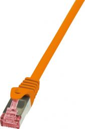 LogiLink CAT 6 Patchcord S/FTP PIMF Pomarańczowy 2M (CQ2058S)