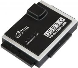 Adapter USB Media-Tech USB 3.0 - SATA + ATA Czarny (MT5100)