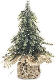 Pigmejka Mała Sztuczna Choinka Jak Żywa Ozdoba na Święta 20x12 cm