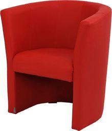Galeriatrend Fotel Klubowy Ekoskóra Pub Salon Klub czerwony