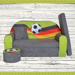 Galeriatrend Sofa kanapa dla dzieci rozkładana flaga Niemiecka