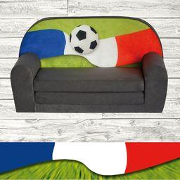 Galeriatrend Sofka Dziecięca Mini Kanapa Flaga Francuska