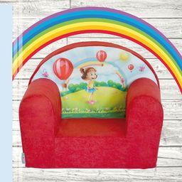 Galeriatrend Fotelik Dziecięcy MIni Czerwona Dziewczynka