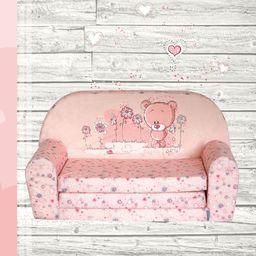 Galeriatrend Sofka Dziecięca Mini Kanapa Łóżko Teddy Bear