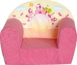 Galeriatrend Fotelik Dziecięcy Mini Różowy Zamek