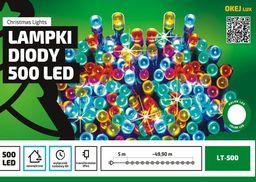 Lampki choinkowe Multimix.pl LED na kabel kolorowe 500szt. (OLT-500/M)