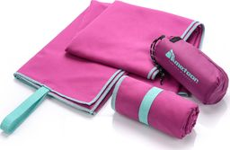 Meteor Ręcznik szybkoschnący S 42x55 cm fioletowy Meteor