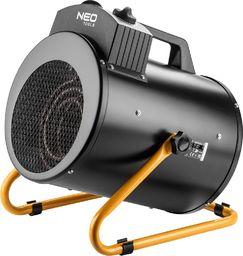 Neo Nagrzewnica elektryczna (Nagrzewnica elektryczna 5kW przemysł, regulacja ustawienia, IPX4)