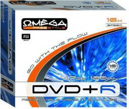 Omega DVD+R 4,7GB 16X SLIM 1szt. (OM1049)