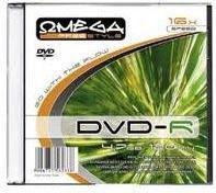Omega DVD-R 4,7GB 16X SLIM 1szt. (OMDF16S)